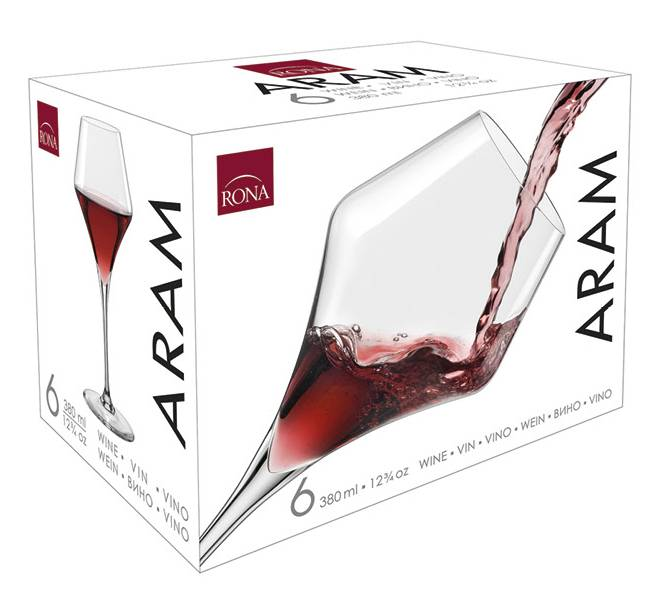 Aram 600ml burgundy (6KS)