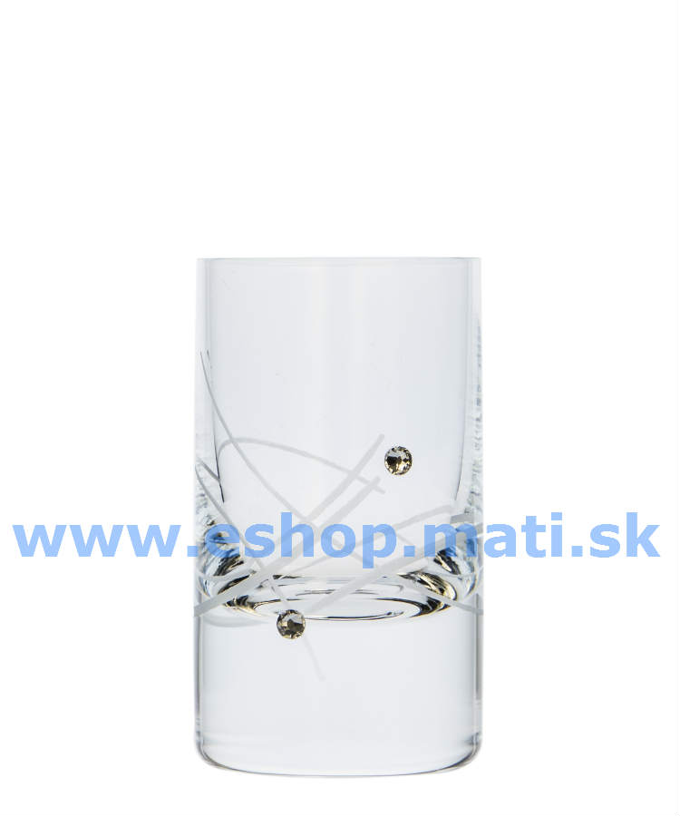 Vodka Shot 70ml 27181 Swarovski Crystals (6KS)