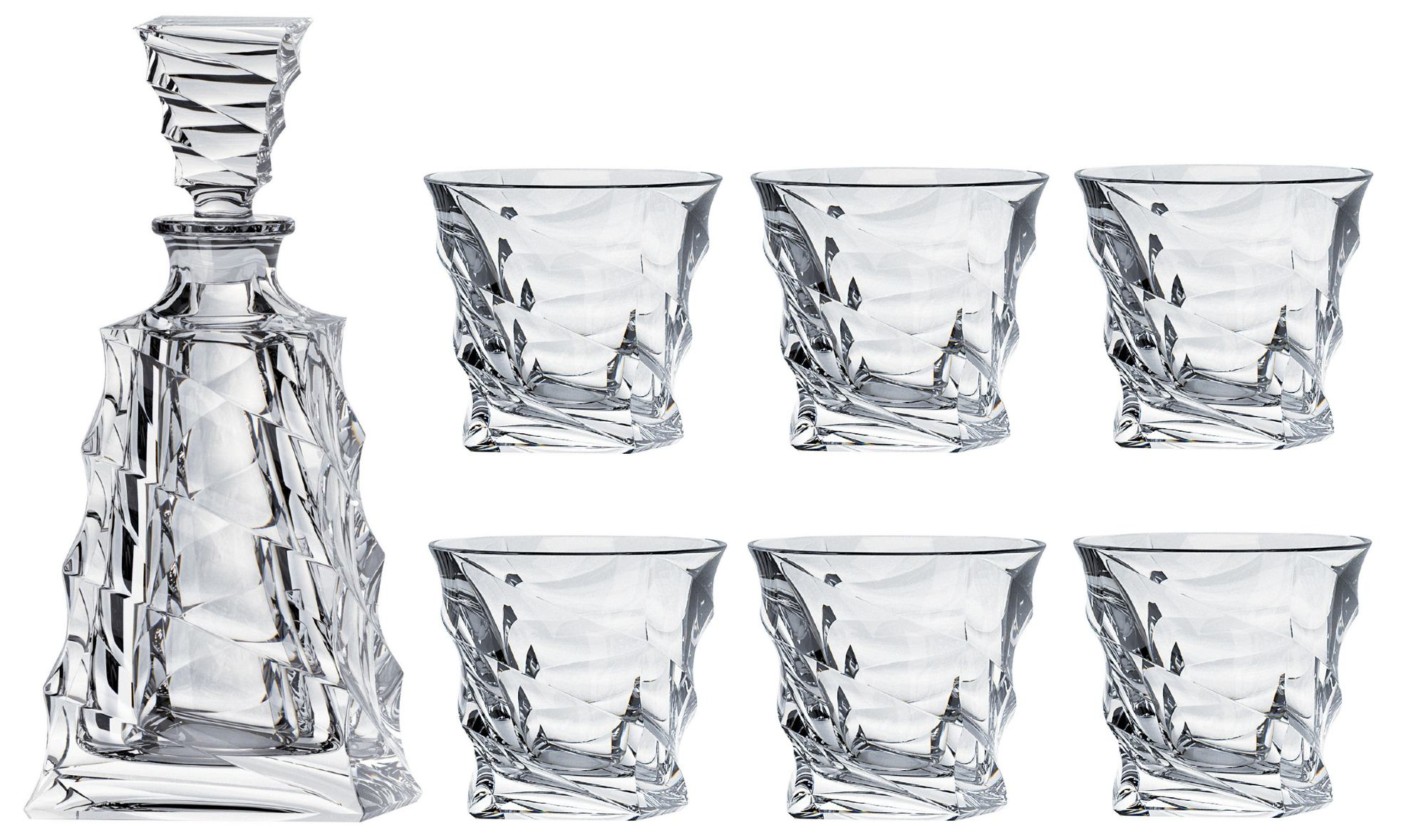 Casablanca set decanter 620ml + poháre 300ml (1+6)