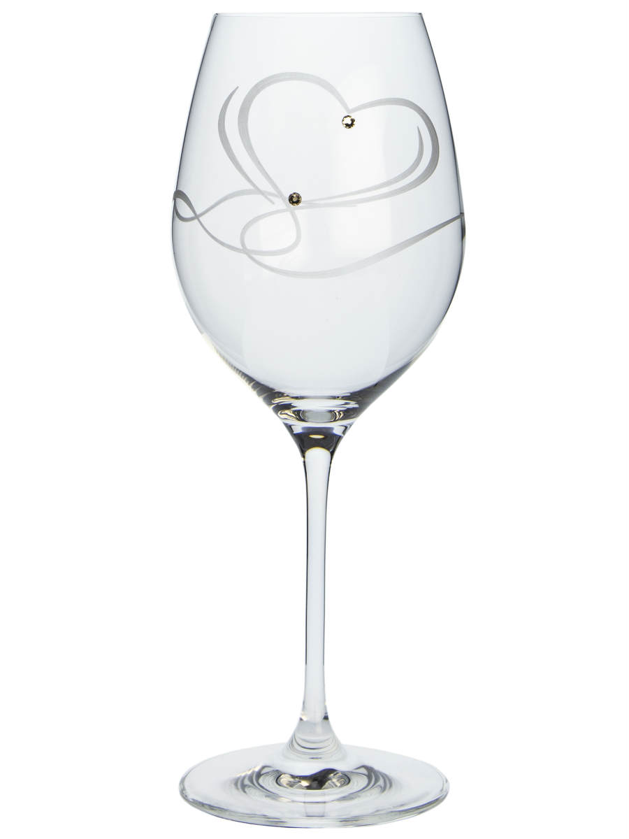 Wine 470 Celebration 25921 srdce Swarovski (2KS)