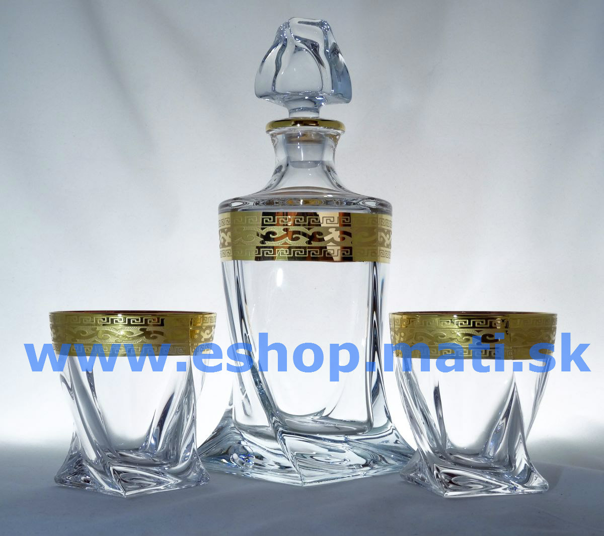 Quadro whiskey set f+6 dekor 374 zlato