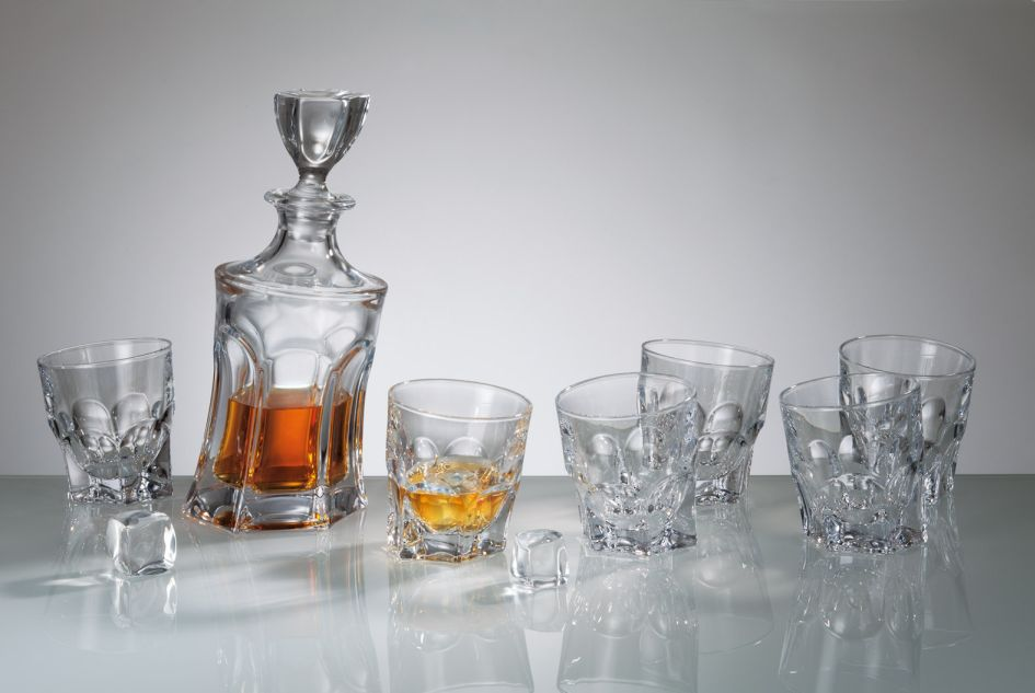 Acapulco whiskey set f+6