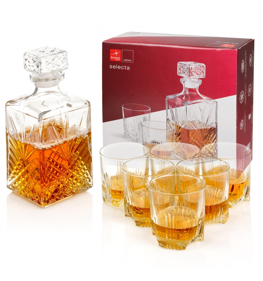 Whiskey set 7D Selecta