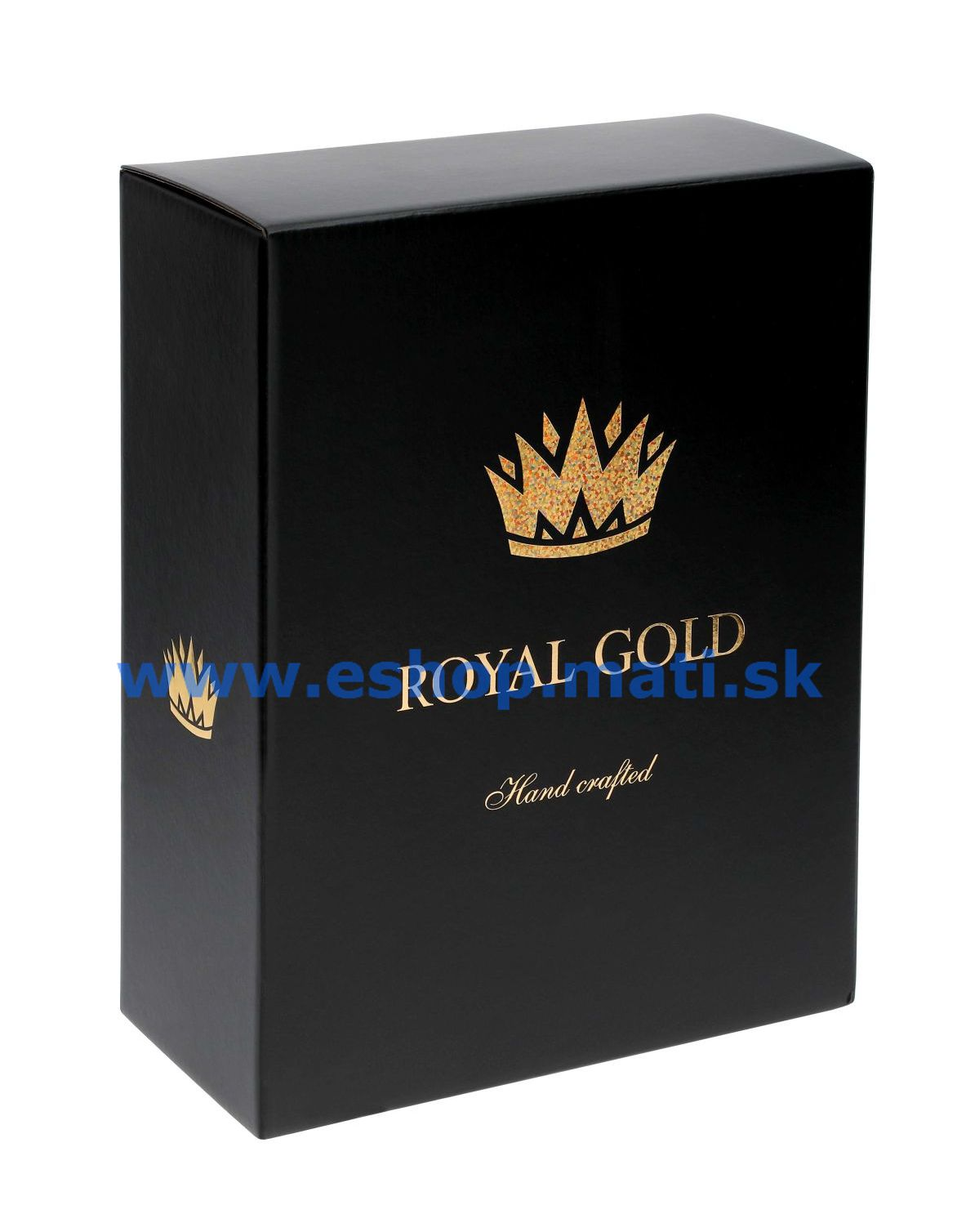 Kalich na víno Royal Gold 470ml 40352 Swarovski Crystals (2KS)