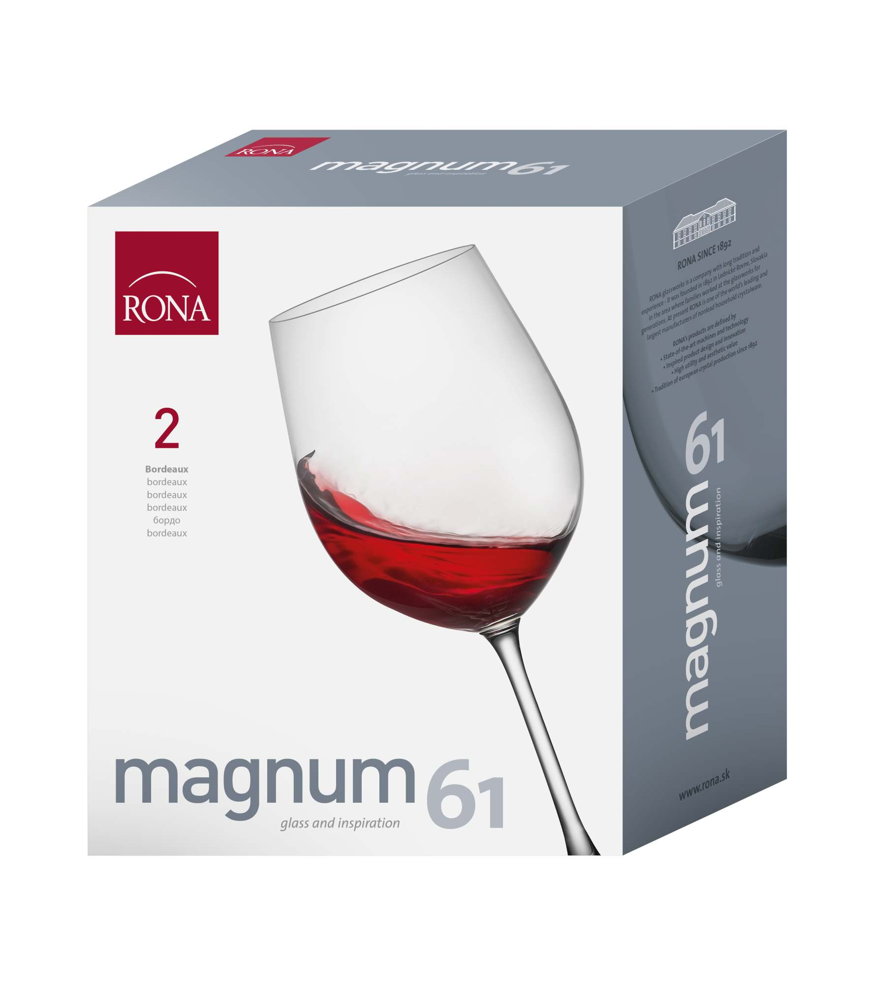 Magnum Bordeaux 850ml (2KS)
