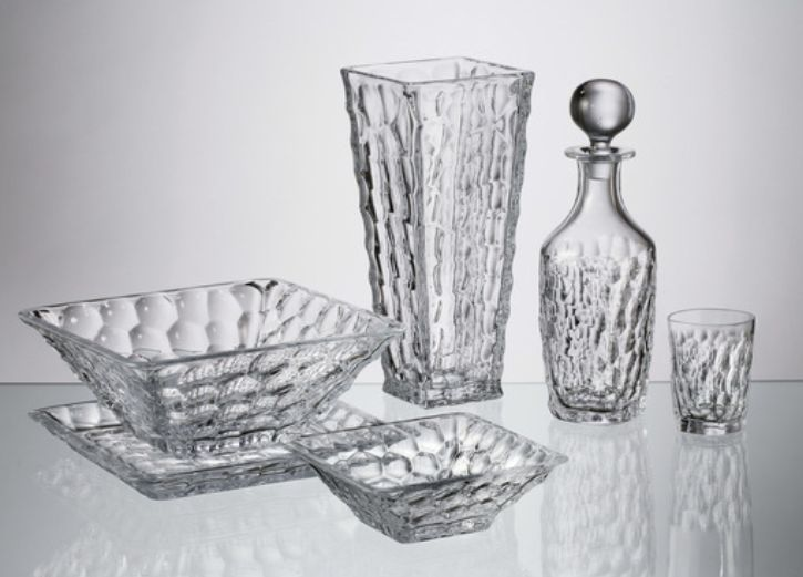 Marble set decanter 750ml + poháre 290ml (1+6)